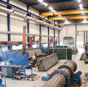 foto Carbon Steel afdeling